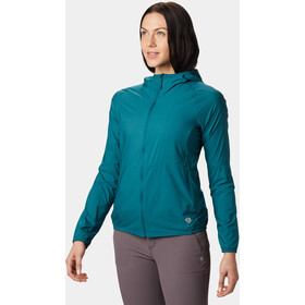 Mountain Hardwear Kor Preshell Chaqueta con capucha Mujer, dive